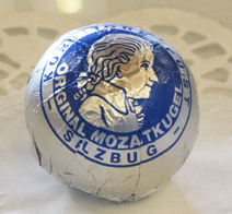 Original Mozartkugel.