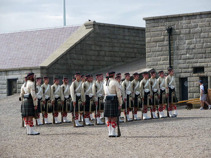 schottische Traditionsgarde in Halifax