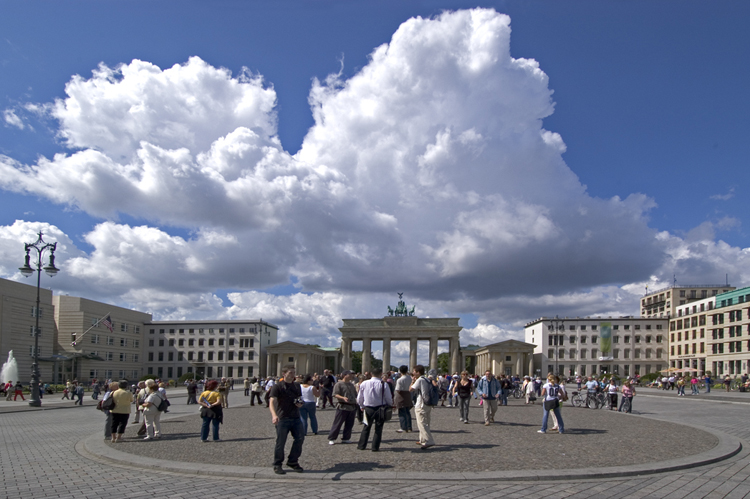 Deutschland, Berlin, Pariser Platz, Brandenburger Tor
